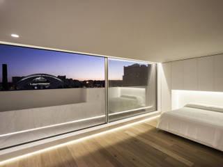 BLS | Casa bajo el azul del cielo Dormitorios de estilo minimalista de Gallardo Llopis Arquitectos Minimalista