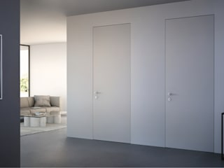 Interior doors:  in stile  di tre.digital srl