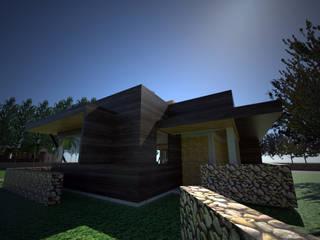 Centro de eventos, Codigua, Melipilla.: Casas de estilo  por Toledo estudio Arquitectos