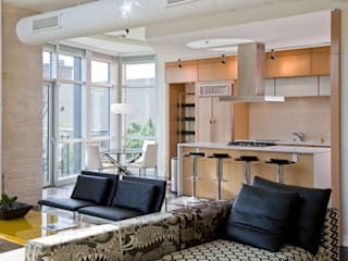 Penthouse at The Metropole Modern Kitchen by FORMA Design Inc. Modern