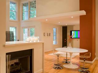 Lake Barcroft Residence Modern Media Room by FORMA Design Inc. Modern