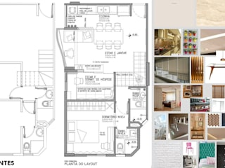 Antes e depois - reforma de duplex na Vila Ipojuca Cozinhas ecléticas por PRISCILLA BORGES ARQUITETURA E INTERIORES Eclético