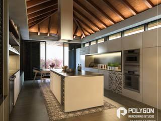 Casa JT:  de estilo  por Polygon Studio