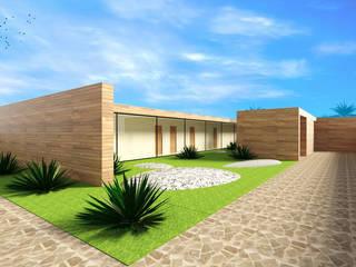 Oliveira House Casas modernas por Atelier 12 Moderno