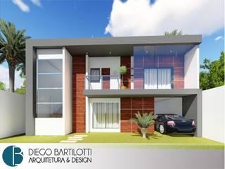 Projeto de Arquitetura - Residencial por Diego Bartilotti - Arquitetura & Design Moderno