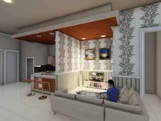 ruang keluarga:  Dapur by Ardha Design