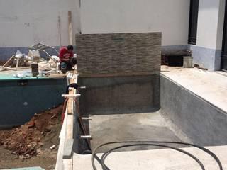 Construcción de Alberca en Tenancingo Edo. de México de Albercas Aqualim Toluca Moderno