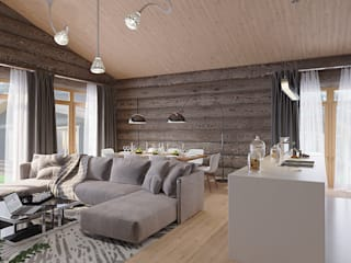 needsomespace Living room Wood Grey