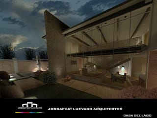 CASA DEL LAGO de JOSSAFHAT LUEVANO ARQUITECTOS Moderno