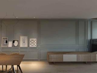 Living room by Cáliz Vázquez Arquitectura e Interiorismo