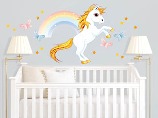 Nursery/kid's room by K&L Wall Art, Modern