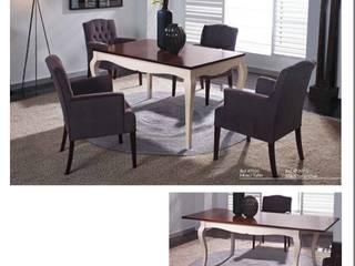 Mesas y Sillas para darle un toque especial a su hogar de Huertas Furniture Moderno