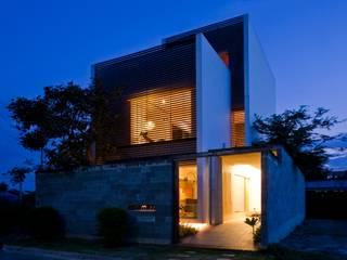 現代房屋設計點子、靈感 & 圖片 根據 a21studĩo 現代風
