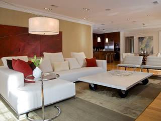 Kalorama Flat Modern Living Room by FORMA Design Inc. Modern