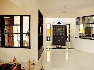 kerala projects Asian style corridor, hallway & stairs by Royal Designs Architects Asian