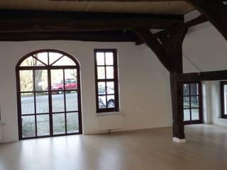 ehemalige Diele:  Einfamilienhaus von Wolfram Schott Architekt