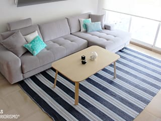 Living room by Ideas Interiorismo Exclusivo, SLU, Mediterranean