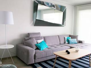غرفة المعيشة تنفيذ Ideas Interiorismo Exclusivo, SLU
