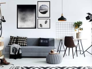 Obrazy czarno białe glamour nowoczesne od Feeby.pl obrazy on line Skandynawski