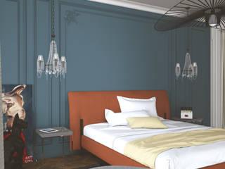 Французский поцелуй Спальня в классическом стиле от Interika Классический