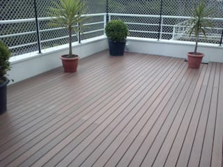 Ecopex Patios & Decks Wood-Plastic Composite Wood effect