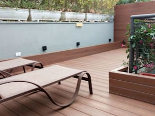 Ecopex Zen garden Wood-Plastic Composite Wood effect