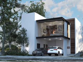 Casa Cordero: Casas unifamiliares de estilo  por AR STUDIO