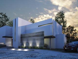 Casa Itzaes: Casas unifamiliares de estilo  por AR STUDIO