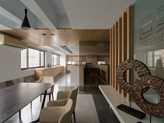 KD Panels Modern offices & stores Wood Wood effect