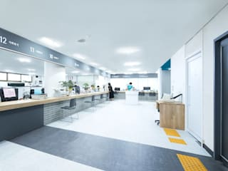 Offices & stores by 지오아키텍처, Modern