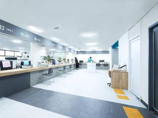 The Gray Band_삼양동주민센터: 지오아키텍처의  사무실