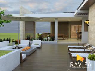 Single family home by Ravifa - Arquitetura, Interiores e Engenharia, Country