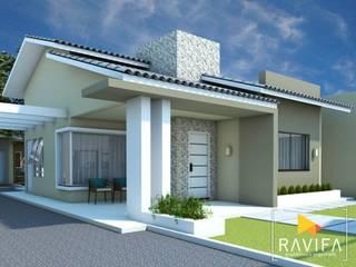 Single family home by Ravifa - Arquitetura, Interiores e Engenharia, Modern