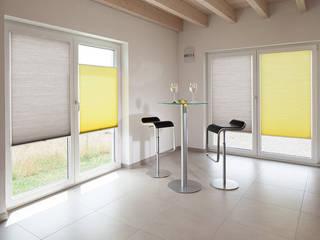 Plissee:  Arbeitszimmer von MyZoo Ingo Stein & Raumgestaltung Anhalt