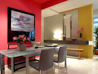 Ruang Serba Guna E&U Dinding & Lantai Gaya Asia Batu Bata Red
