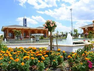 KARAASLAN HADİMİ PARKI Country style garden by ÇİFTSAN BOTANİK VE AYDINLATMA Country