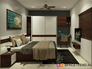 Prestige Tranquility:  Bedroom by Space Trend