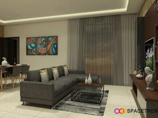 Prestige Tranquility Modern living room by Space Trend Modern