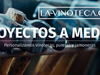 FABRICAMOS VINOTECAS A MEDIDA | VINOTECAS MADERA | PURERAS A MEDIDA PARA PROFESIONALES Y PARTICULARES: Locales gastronómicos de estilo  de La-Vinoteca.Com