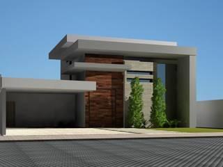 Projeto residencial: Casas familiares  por Nicéia Benvinda Arquitetura,Moderno
