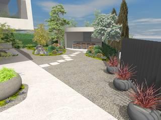 Villagarten Moderner Garten von Lifestyle & More by Lyke Gschwend - Atelier für Garten & Landschaftsdesign Modern
