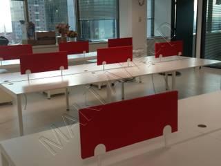 Maki Ahşap ve Metal Mobilya San. ve Tic. Ltd. Şti. – Destek FX Genel Müdürlük: minimalist tarz , Minimalist