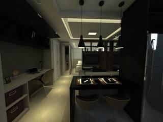 Dining room by Capitão Engenharia & Construção