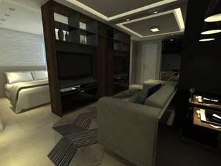 Living room by Capitão Engenharia & Construção