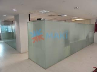 Maki Ahşap ve Metal Mobilya San. ve Tic. Ltd. Şti. – Destek FX Genel Müdürlük: modern tarz , Modern