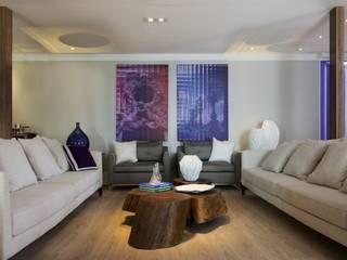 Casa Container Salas de estar modernas por Daniel Kalil Arquitetura Moderno