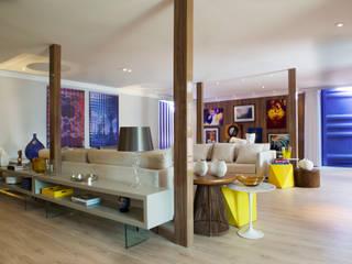 Sala de Estar Salas de estar modernas por Daniel Kalil Arquitetura Moderno
