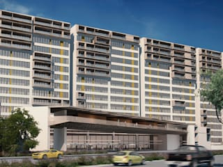 Plan Maestro Conceptual Vivienda Vertical: Casas unifamiliares de estilo  por de Silva Arquitectos