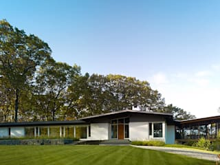 Paradise Lane, Litchfield County, CT Modern Houses by BILLINKOFF ARCHITECTURE PLLC Modern