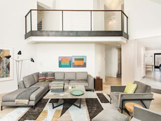 Modern living room by BILLINKOFF ARCHITECTURE PLLC Modern